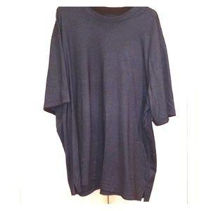 Van Heusen Green Pullover Dress Shirt
